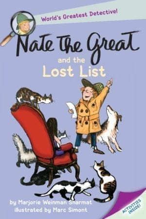 NATE THE GREAT AND THE LOST LIST