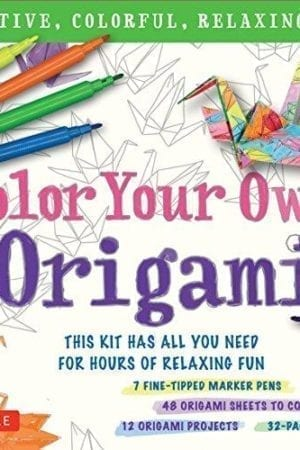 COLOR YOUR OWN ORIGAMI
