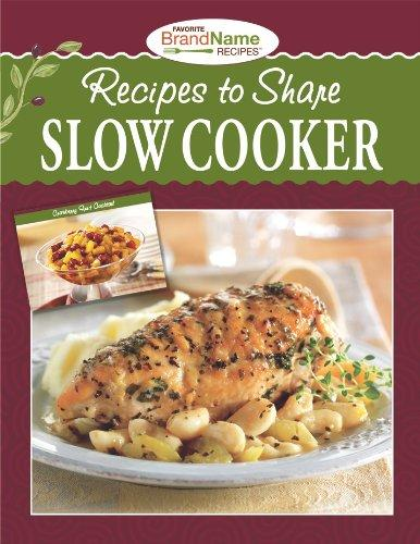 RECIPES TO SHARE SLOW COOKER