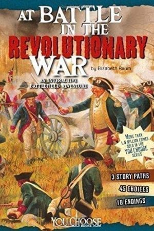 AT BATTLE IN THE REVOLUTIONARY WAR