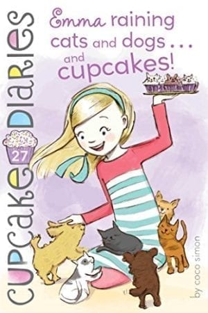 EMMA RAINING CATS & DOGS…& CUPCAKES!